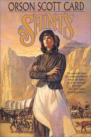Cover of: Saints