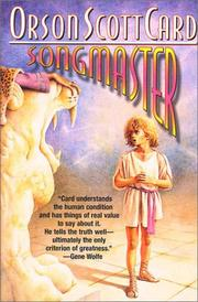 Cover of: Songmaster