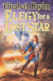 Cover of: Elegy for a lost star