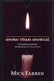 Cover of: More than mortal