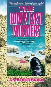 Cover of: The Down-East Murders (A Sarah Deane Mystery)