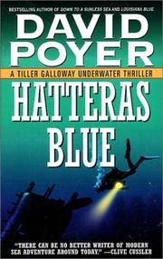 Hatteras Blue (A Tiller Galloway Thriller) by David Poyer