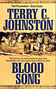 Cover of: Blood Song