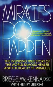 Cover of: Miracles Do Happen | Briege McKenna