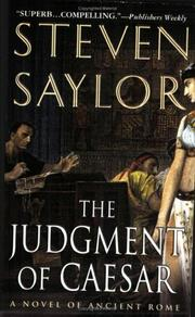 Cover of: The Judgment of Caesar | Steven Saylor