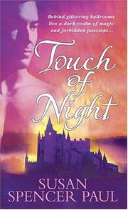 Cover of: Touch of night | Susan Spencer Paul