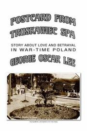 Cover of: POSTCARD FROM TRUSKAWIEC - SPA