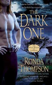 Cover of: The Dark One (The Wild Wulfs of London) | Ronda Thompson