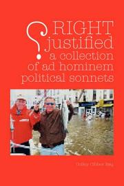 Cover of: RIGHT JUSTIFIED (?)