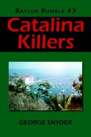 Cover of: Catalina Killers | George Snyder