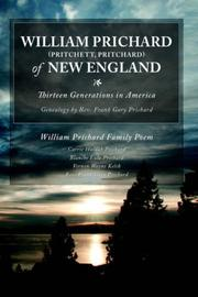 Cover of: William Prichard of New England | Gary Prichard
