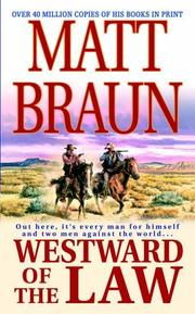 Cover of: Westward of the Law