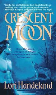 Cover of: Crescent Moon (A Nightcreature Novel, Book 4) | Lori Handeland