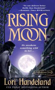 Cover of: Rising Moon (A Nightcreature Novel, Book 6)