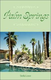 Cover of: Palm Springs | Stella Lowe