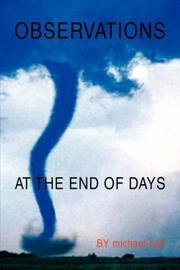 Cover of: Observations at the End of Days