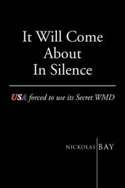 Cover of: It Will Come About in Silence