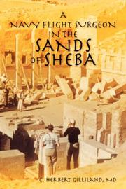 Cover of: A NAVY FLIGHT SURGEON IN THE SANDS OF SHEBA