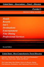 Cover of: United States Lodging Directory