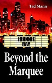Cover of: Beyond the Marquee | Tad Mann