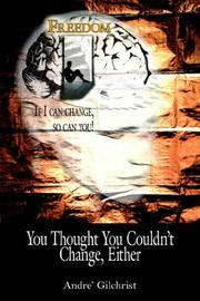 Cover of: You Thought You Couldn