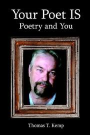 Cover of: Your Poet IS