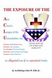 Cover of: The Exposure of Anti Christ