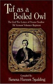 Cover of: Tuf as a Boiled Owl | Kenena Hansen Spalding