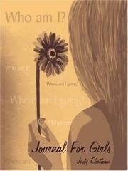 Cover of: Journal for Girls