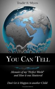 Cover of: You Can Tell | Trudie, A. Myers
