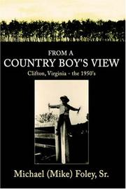 Cover of: From a Country Boy