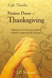 Cover of: Positive Power Of Thanksgiving