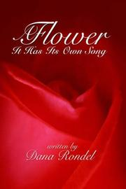 Cover of: A Flower | Dana Rondel