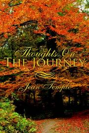 Cover of: Thoughts On The Journey