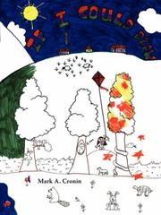 Cover of: If I Could Draw | Mark A. Cronin