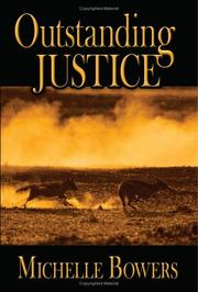 Cover of: Outstanding Justice | Michelle Bowers