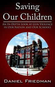 Cover of: Saving Our Children