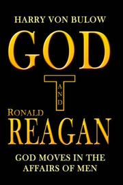 Cover of: God and Ronald Reagan