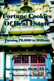 Cover of: Fortune Cookies Of Real Estate