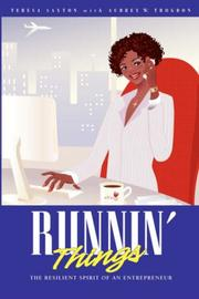 Cover of: Runnin Things | Teresa Saxton