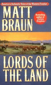 Cover of: Lords of the Land
