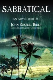 Cover of: SABBATICAL | John Russell Rider