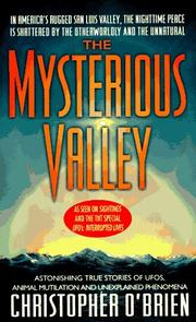 Cover of: Mysterious Valley
