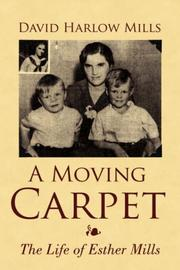 Cover of: A Moving Carpet | David Harlow Mills