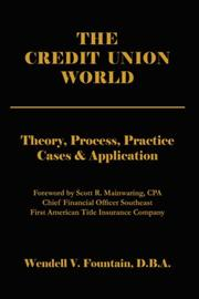 Cover of: The Credit Union World