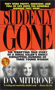 Cover of: Suddenly gone