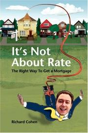 Cover of: It's Not About Rate