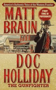 Cover of: Doc Holliday (Gunfighter Chronicles)