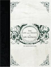 Cover of: The Life and Death of Mr. Badman