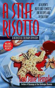 Cover of: A Stiff Risotto (A Heaven Lee Culinary Mystery)